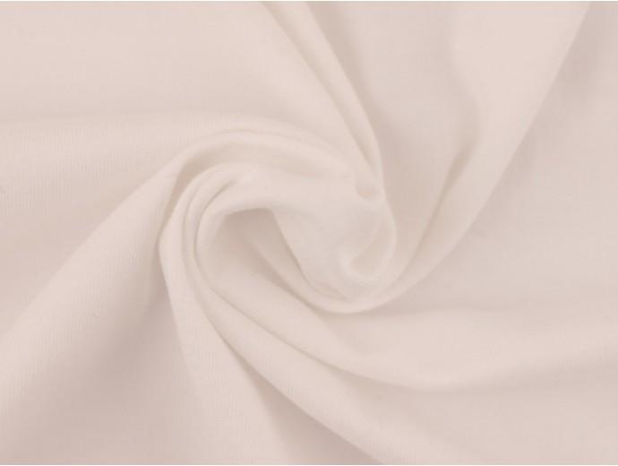 Single Jersey Fabric - White
