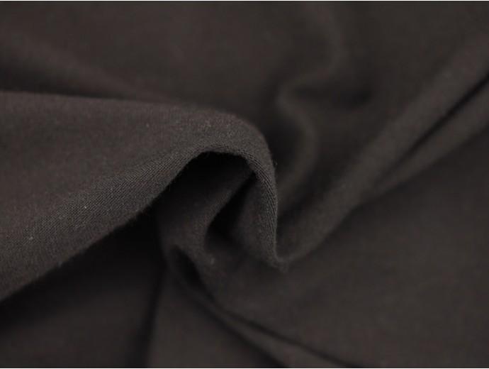 Single Jersey Fabric - Black