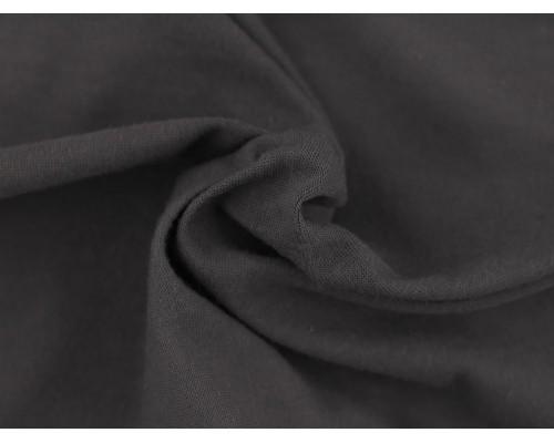 Single Jersey Fabric - Dark Grey