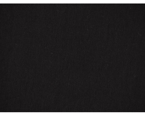 Single Jersey Fabric - Black