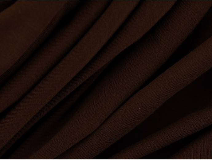 Single Jersey Fabric - Coffee Bean