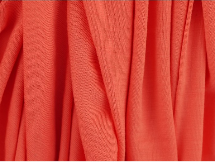 Single Jersey Fabric - Coral