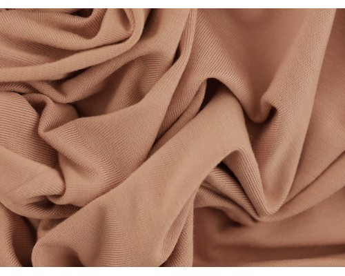 Single Jersey Fabric - Dusty Pink