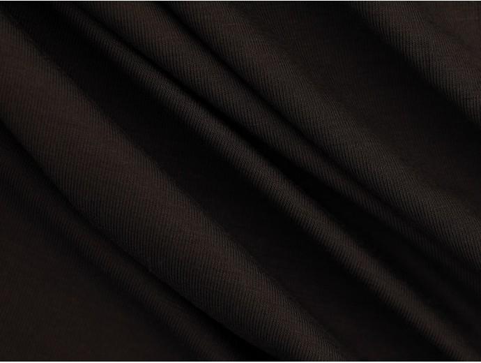 Single Jersey Fabric - Ebony