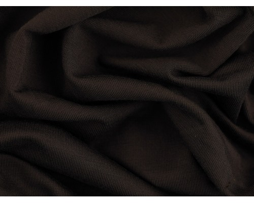 Single Jersey Fabric - Ebony