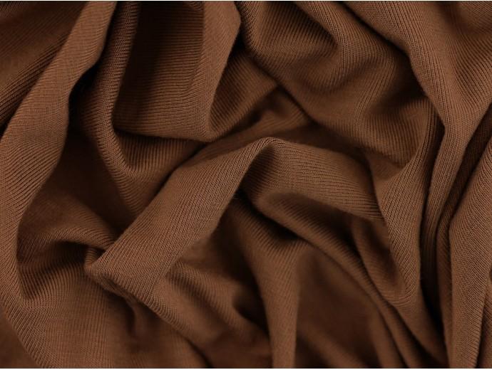 Single Jersey Fabric - Mink