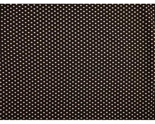 Printed Viscose Jersey Fabric - Polka Dot