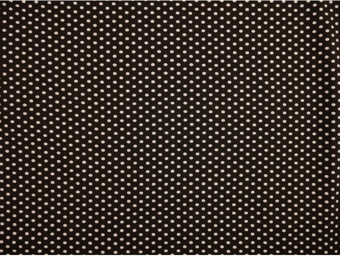 Printed Viscose Jersey Fabric - Polka Dot