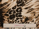 Printed Viscose Jersey Fabric - Animal