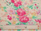Printed Viscose Jersey Fabric - Pink Bouquet