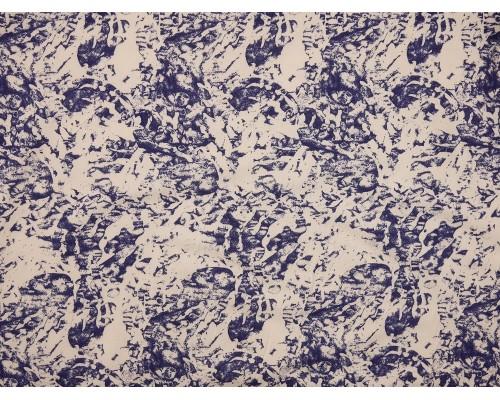 Printed Viscose Jersey Fabric - Abstract Block