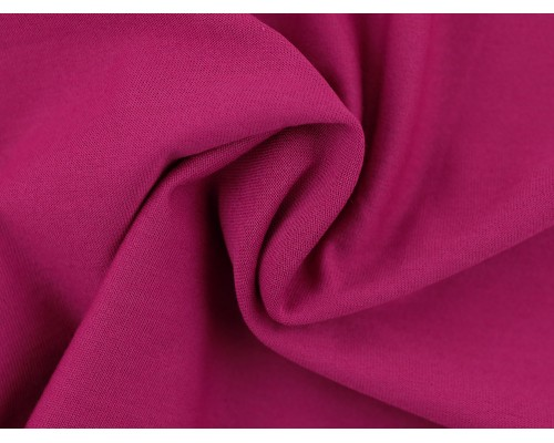 Single Jersey Fabric - Cerise