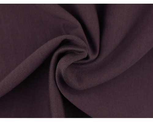 Single Jersey Fabric - Dark Mauve