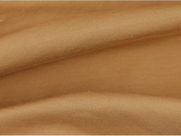 Single Jersey Fabric - Camel