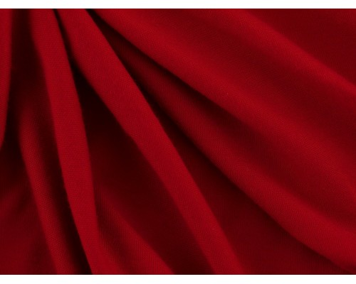 Single Jersey Fabric - Scarlet