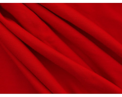 Single Jersey Fabric - Red