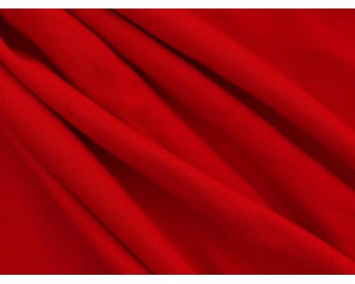 Single Jersey Fabric - Red
