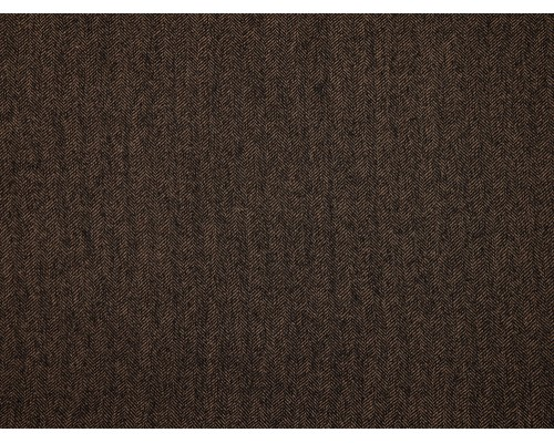 Herringbone Fabric - Black / Taupe