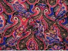 Single Jersey Fabric - Paisley Print