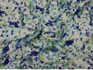 Single Jersey Printed Fabric - Abstract Floral