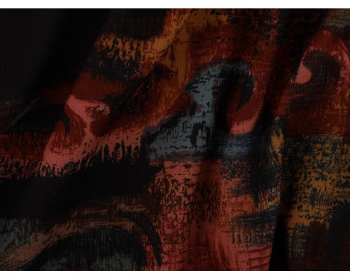*Fabric of the Week* Single Jersey Printed Fabric - Dark and Stormy