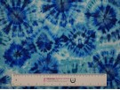 Single Jersey Printed Fabric - Blue Tie-Dye
