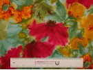 Single Jersey Printed Fabric - Watercolour Floral
