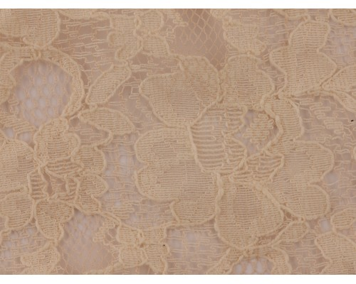 Lace Fabric - Gray Sand