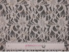 Sequined Lace Fabric - Cream