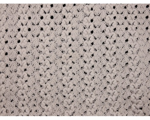 Crochet Lace Fabric - Cream