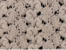 Crochet Lace Fabric - Cream