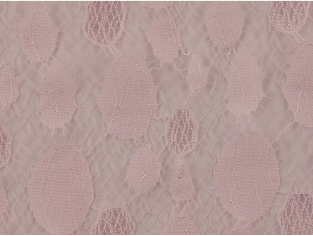 Lace fabric baby pink for Baby fabric uk