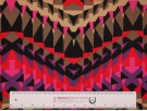 Printed Viscose Jersey Fabric - Abstract Geometric