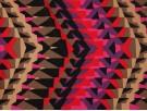 Printed Viscose Jersey Fabric - Abstract Geometric