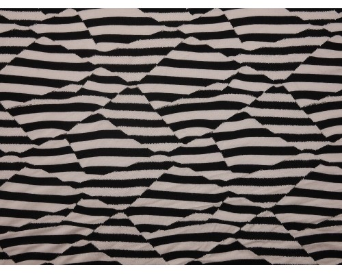 Single Jersey Fabric - Patchwork Stripe